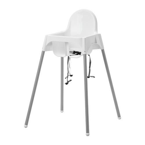 IKEA Antilop Kursi Makan Anak Dengan Tali Pengaman - Putih