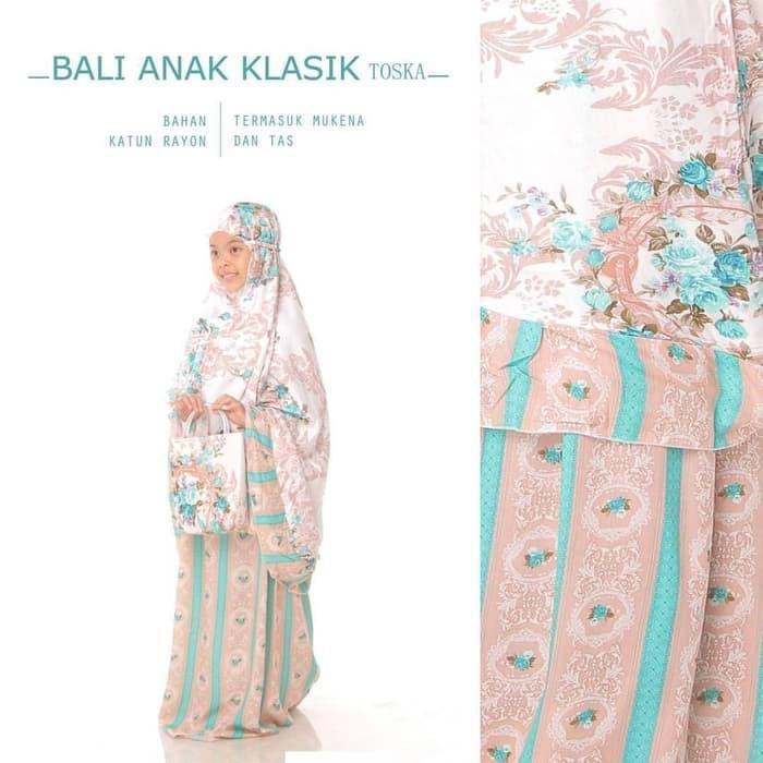Mukena Bali Anak Klasik SD BESAR (9-12 tahun) / PERLENGKAPAN SHOLAT / TELEKUNG / MUKENA / MUKENA ANAK /  MUKENA KARAKTER ANAK / MUKENA ANAK TERMURAH / MUKENA  ANAK BERKUALITAS