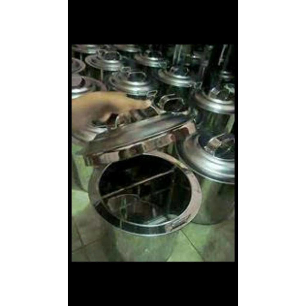 Alat Masak Dandang Sekat Mie Ayam 40Cm Tong Bakmi Panci Soto Sop Baso Bakso Stok Terbatas !!