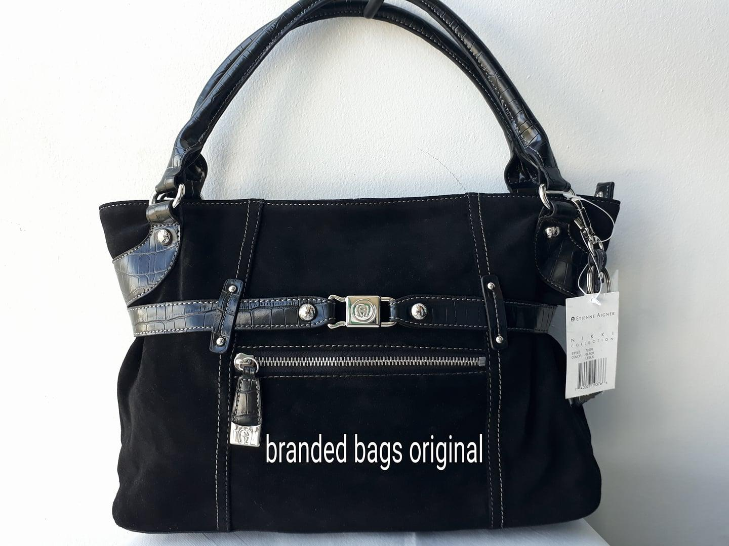 Tas Etienne Aigner USA Nikki Shopper Black 72276 Authentic Original USA Store SALE..SALE...