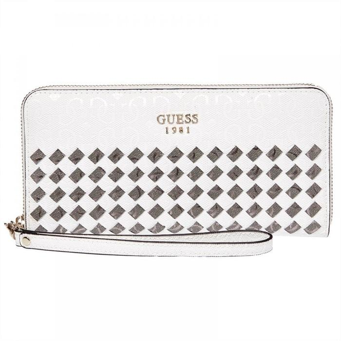 dompet Guess Flutter SLG Monogram Zip Around original - m5wF6V