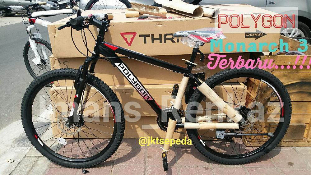Sepeda MTB Polygon Monarch 3 Cakram Terbaru