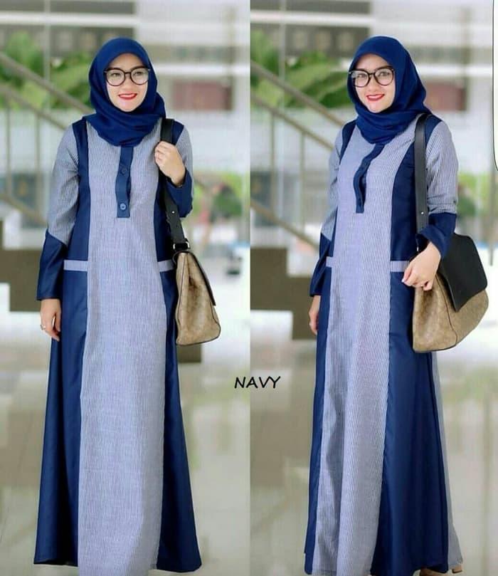 maxi jihad baju muslim best seller - baju gamis original - baju gamis moderen terlaris - fashion baju muslim terbaik dan terkini
