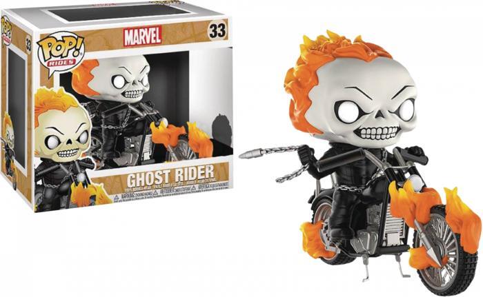 BEST SELLER!!! Funko POP! Rides - Marvel  - Ghost Rider - Ghost Rider Classic - kw5Zc3