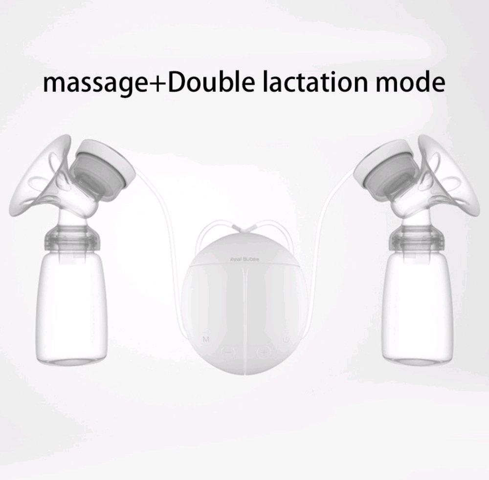 Detail Gambar Real Bubee Double Pompa Asi Elektrik Electric Breast Pump Terbaru