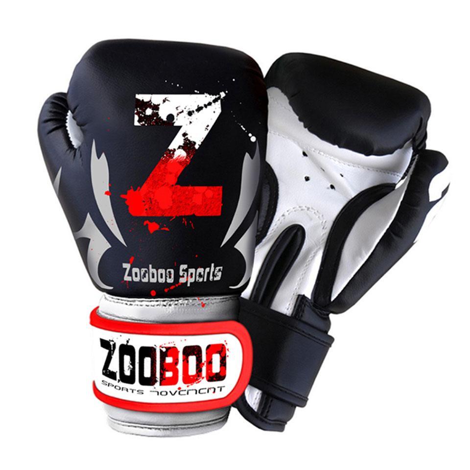 ea96be287 ZOOBOO MMA Muay Thai Boxing Gloves Sanda Kungfu Wushu Women Men Fighting  Sandbag Training guantes de