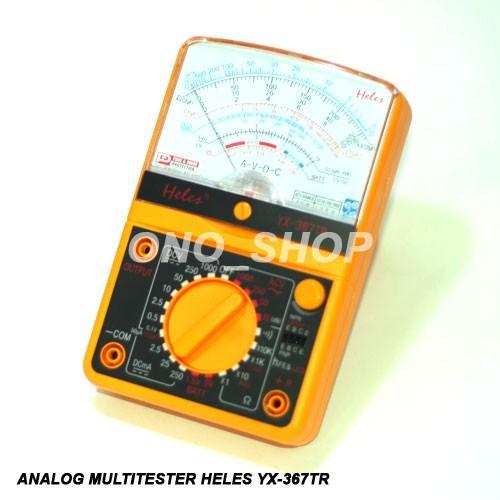 Multitester Analog Heles YX367TR (Plus LED & Transistor Tester)