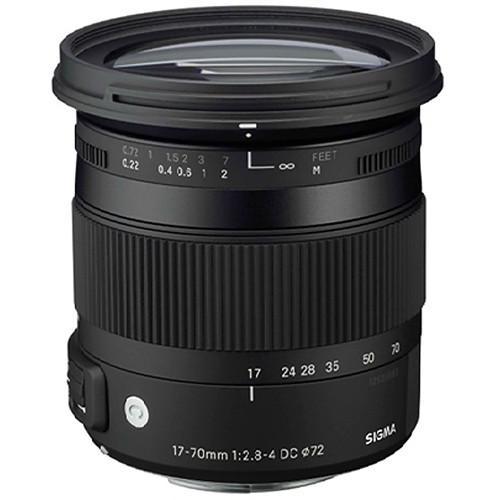 Sigma For Nikon 17-70mm F/2.8-4 DC Macro OS HSM | C