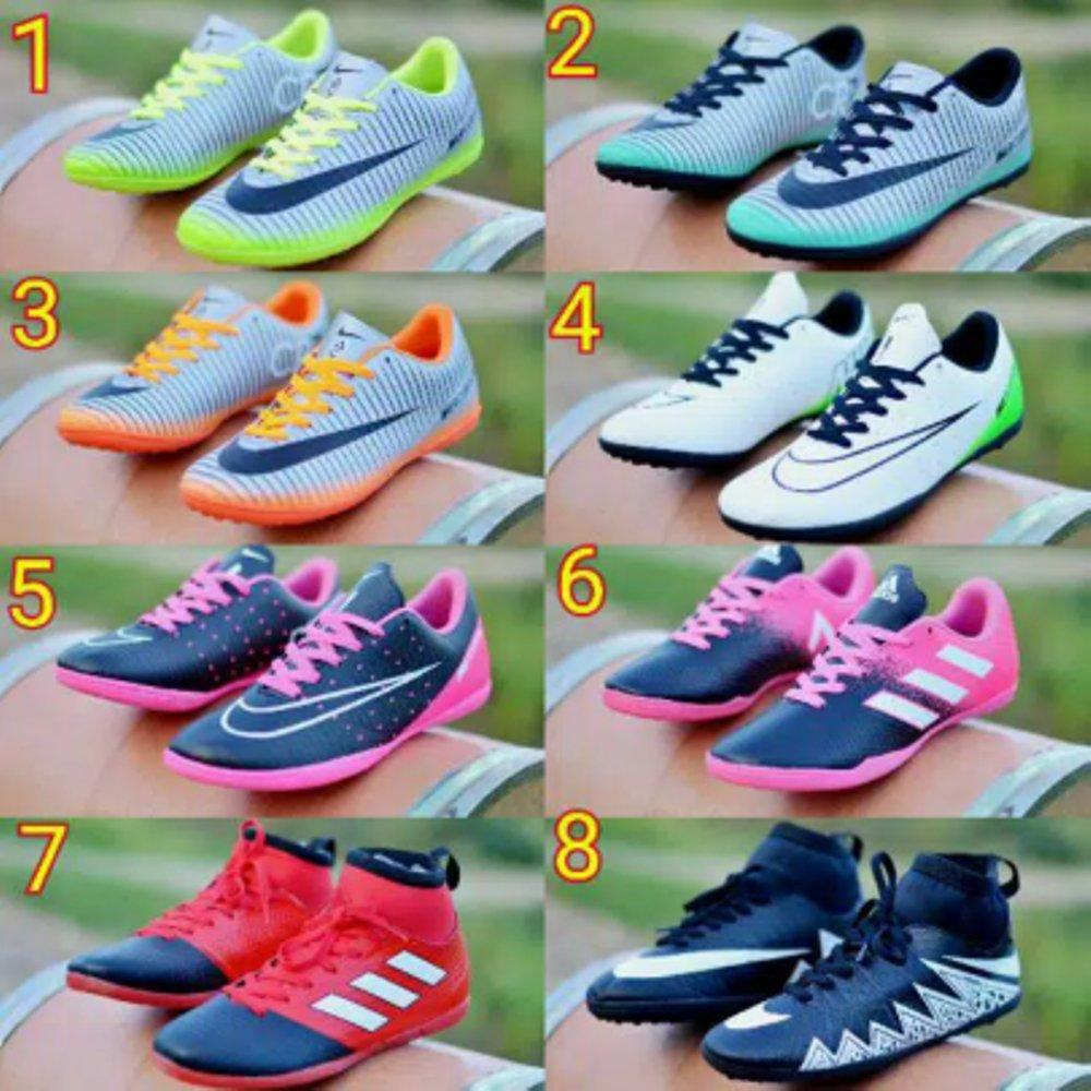 Promo Sepatu Olahraga Sepak Bola Futsal Main Bola Trendy Nike Adidas Puma Gaya Terbaru Sepatu Futsal Fashion