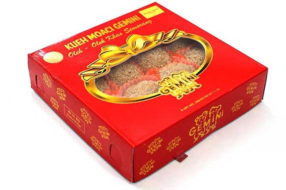 isi 16 kue Moaci/Moci/Mochi Wijen Gemini Kentangan Original Asli oleholeh khas Semarang murah lezat