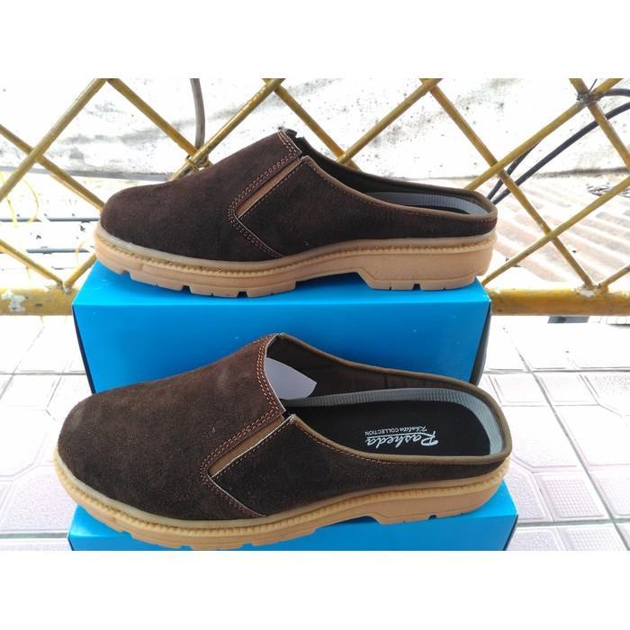 Promo Sepatu  Sandal Kulit Asli Rasheda VL 06 Big Size Gratis Ongkir
