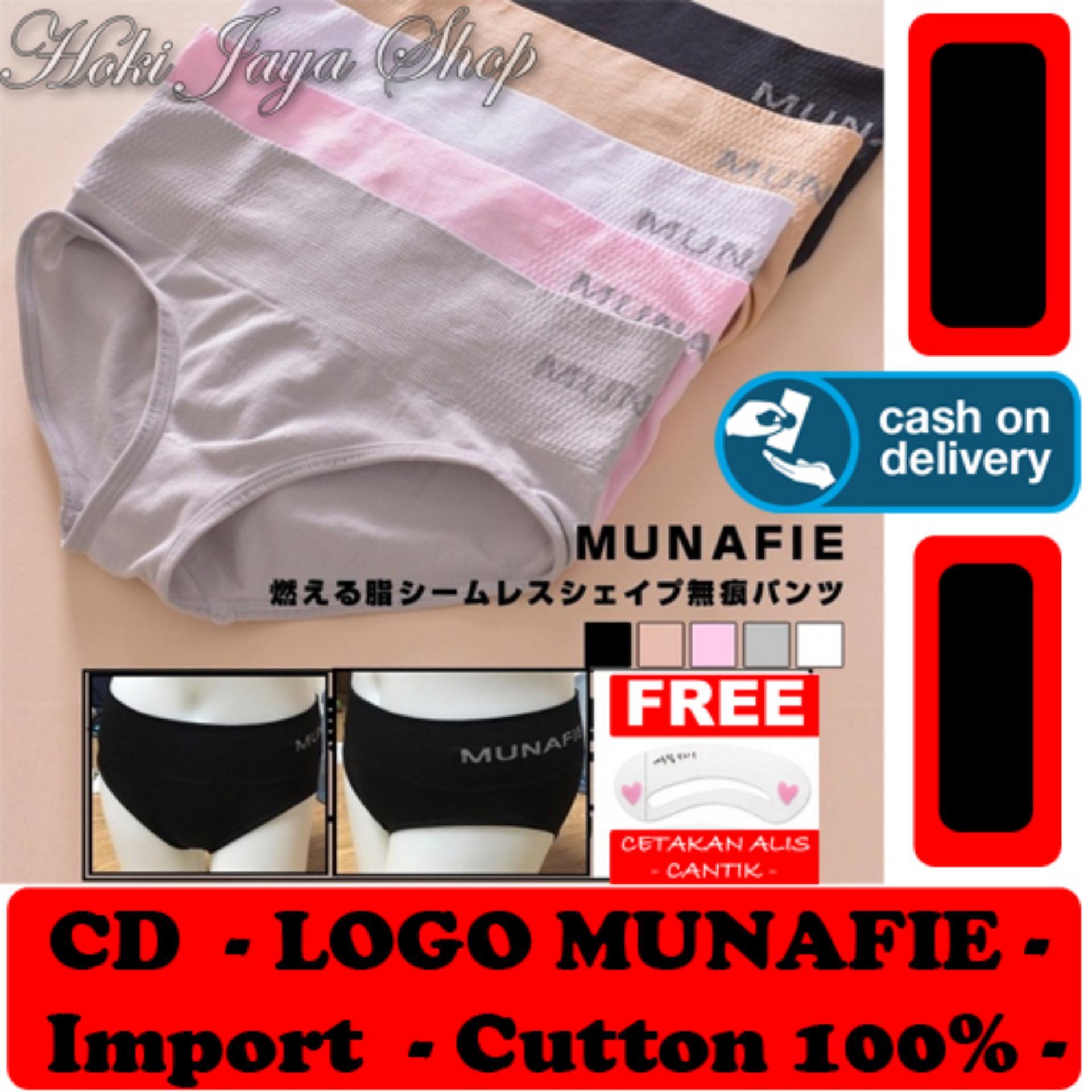 HOKI COD - CD Munafie Slim Pant Celana Dalam Korset Dengan Logo Kualitas Import Cutton 100{55e037da9a70d2f692182bf73e9ad7c46940d20c7297ef2687c837f7bdb7b002} Original - Multi Colour + Gratis Cetak Alis Cantik Premium