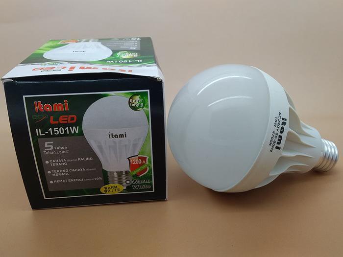 NEW  LAMPU LED 15 Watt Warm White ITAMI by KAWACHI PROMO TERLARIS