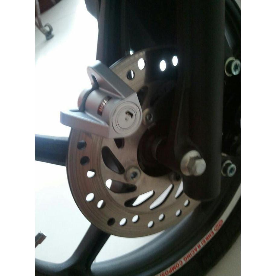 Kunci Cakram / Disc Tdr Triangle Gembok Pengaman Motor Anti Maling - Motor