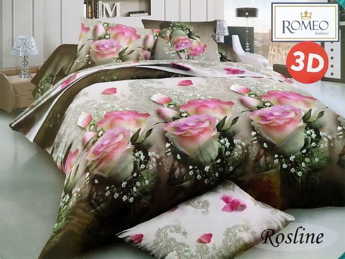 Bedcover Romeo ukuran 180 x 200 / King / No.1 - Rosline - sprei terbaru yang nyaman / sprei termurah / sprei tidak luntur / sprei import / sprei anak / sprei dewasa / sprei berkualitas / sprei bagus / sprei keren / sprei trendy / sprei trendy / sprei