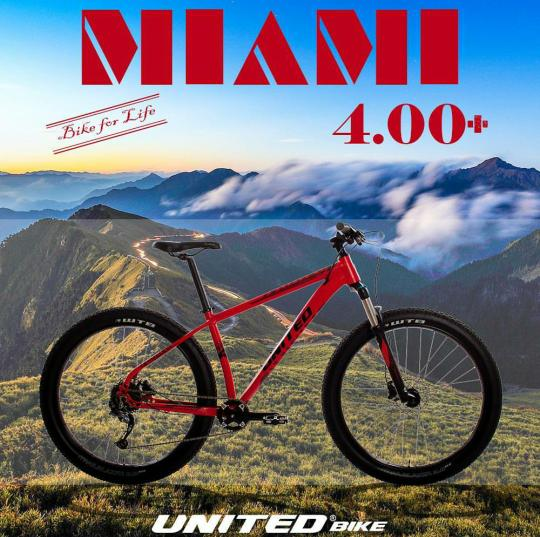 Sepeda MTB UNITED MIAMI 4.00 PLUS - L7Ui6n