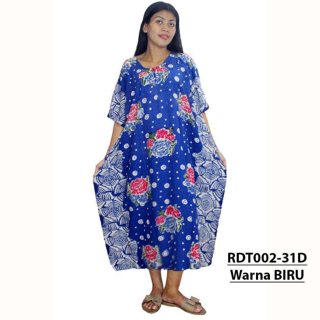 Daster Kalong, Lowo, Kelelawar Jumbo Batik Cap, Baju Tidur Kancing,Busui, Bumil (RDT002-31)