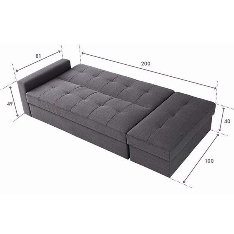 SOFA BED PUFF SEAT - MODEL SOFA BISA DI RUBAH SESUAI SELERA