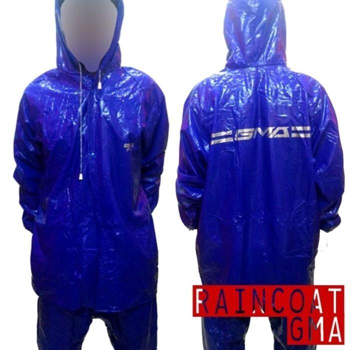 Jas Hujan Karet PVC Original GMA Raincoat murah & kuat