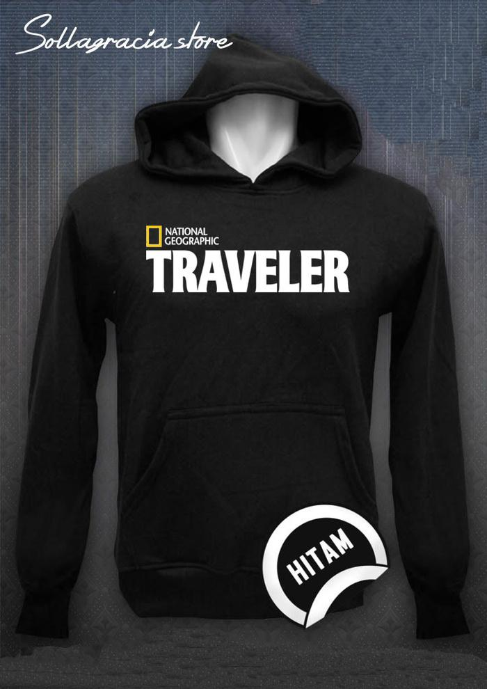 JAKET SWEATER HOODIE JUMPER NATIONAL GEOGRAPHIC TRAVELER