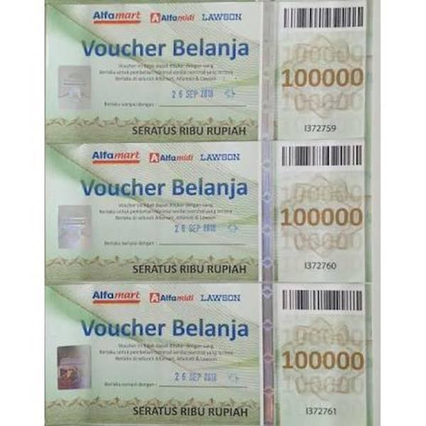 Kartu Alfamart 100Rb R5378