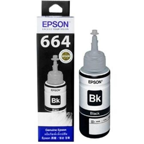 Tinta Printer Epson 664 T664 Black / Hitam T6641 L100 L110