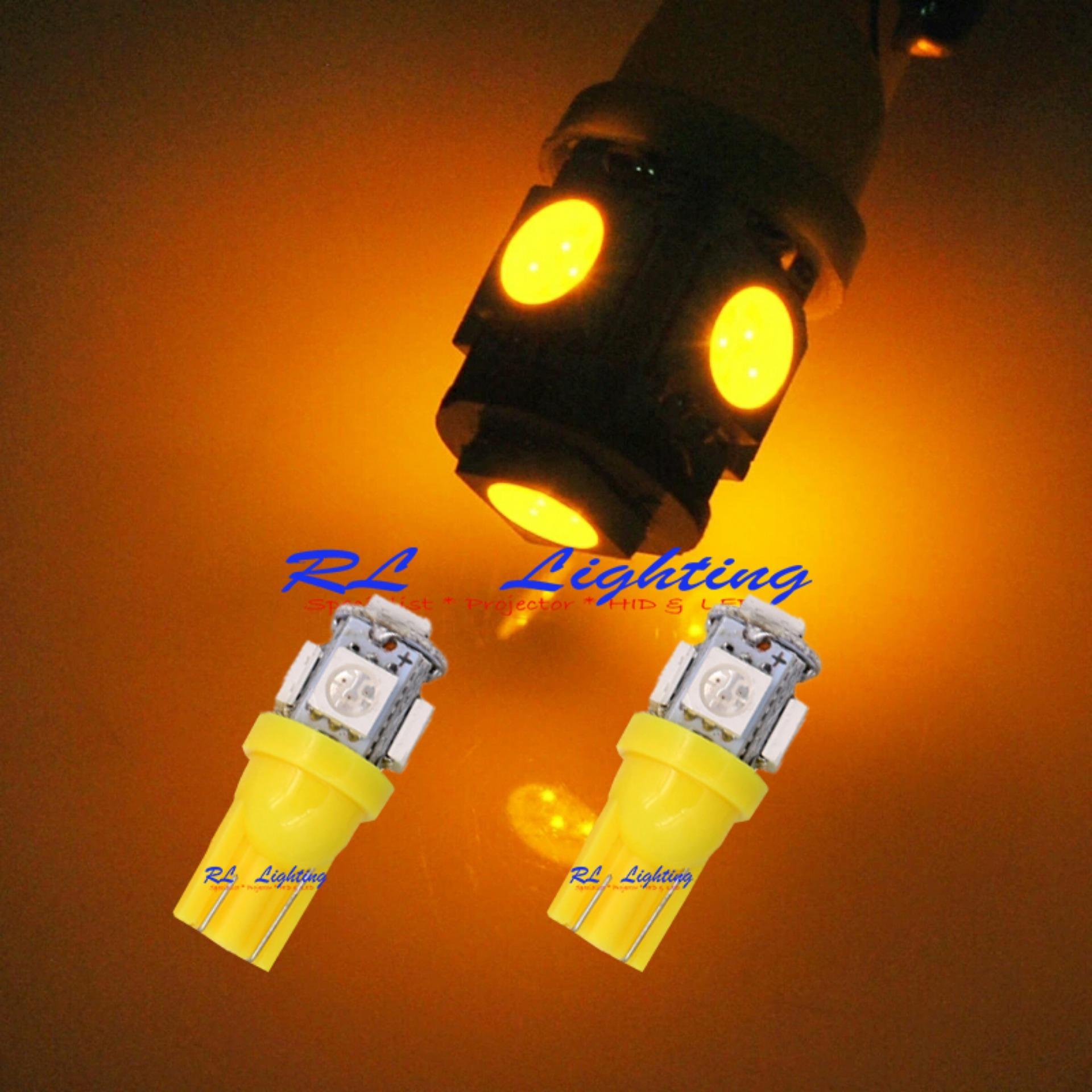 Kehebatan 2bh Led Alis Drl Flexible 60cm Merah Grade A Dan Harga Spextrum 30cm Lampu Motor Mobil Warna Warni Senja Bola Cucuk T10 Kuning