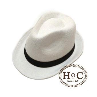 Price Checker Houseofcuff Topi Fedora Hat WHITE FEDORA HAT LAKEN pencari  harga - Hanya Rp102. ed6fa40e0e
