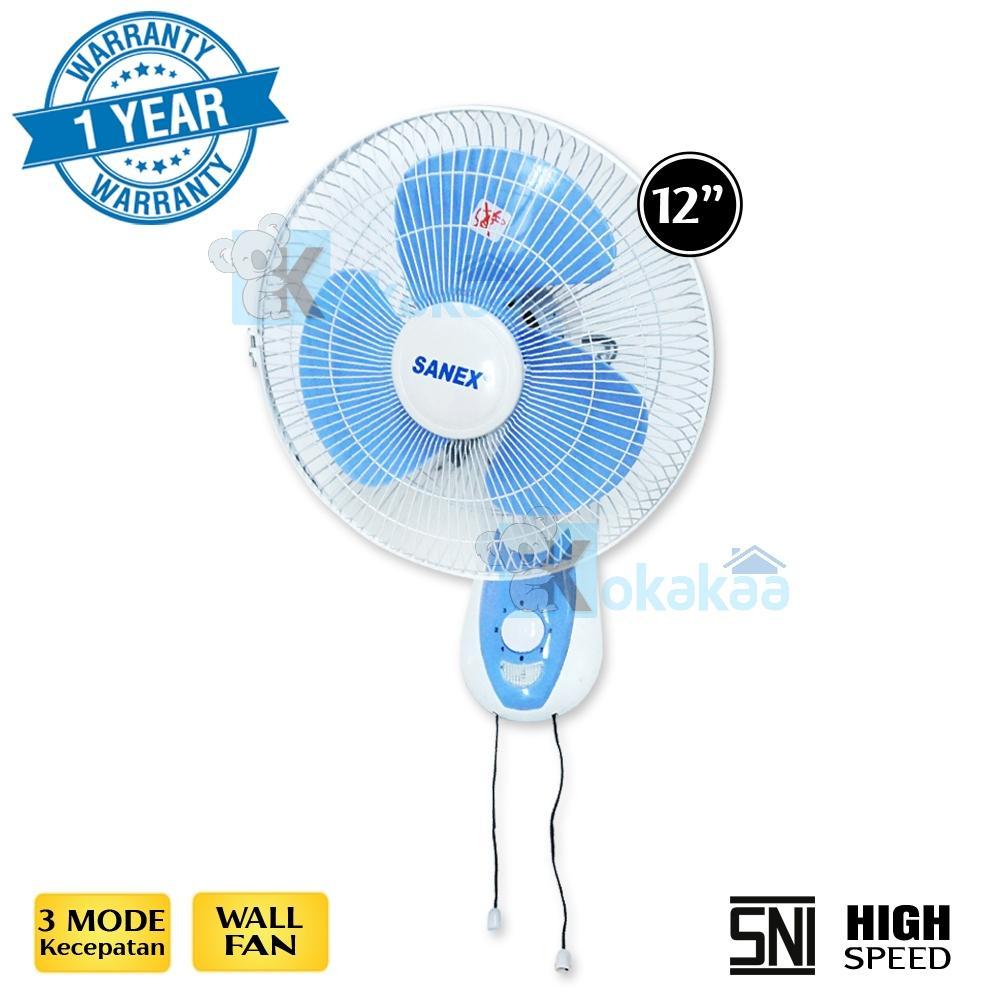 Sanex Kipas Angin Dinding Wall Fan FW-1280X 12