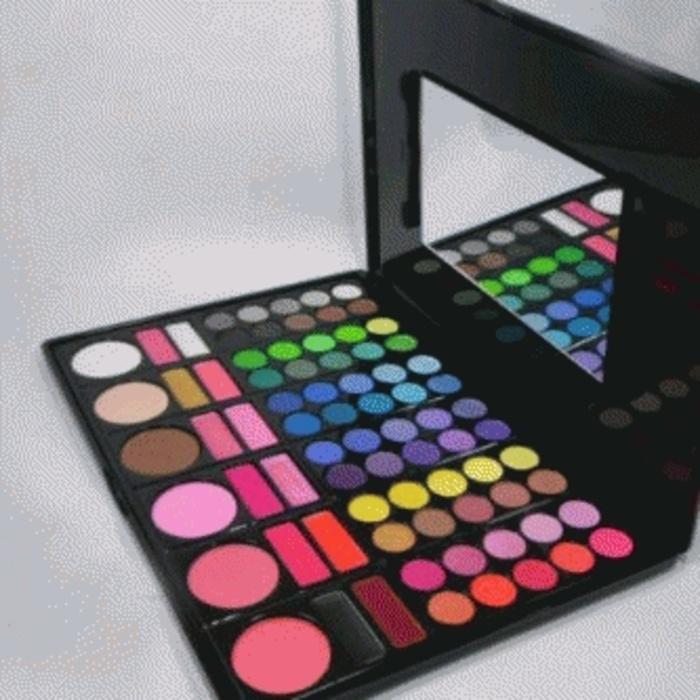 Peralatan  Kecantikan  / Set & Palette Makeup MAC PELETTE 78 COLOR NO 3 / Peralatan makaeup /  Eyeshadow Terlaris / Eyeshadow 78 color