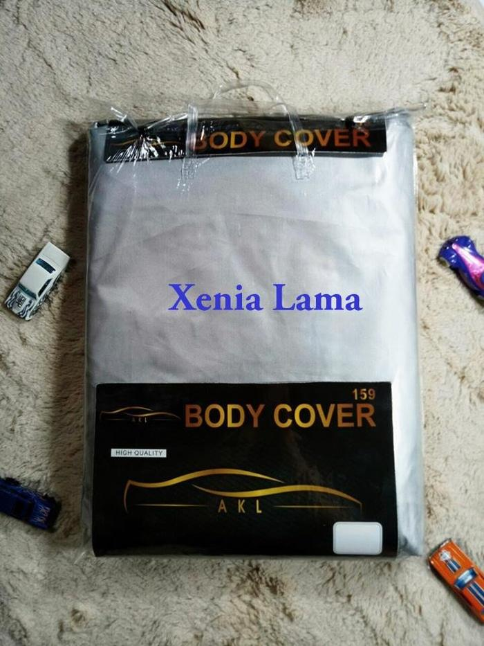 Xenia Lama Silver Coating Body Cover Mobil/Sarung Mobil/Selimut Mobil - PPVVw6
