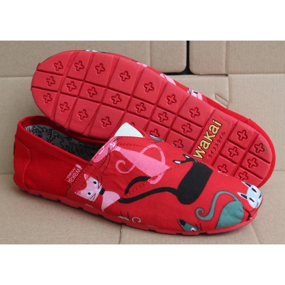 Sepatu Wakai Couple KCM G.O/Grosir Sepatu/Sepatu Anak/Sepatu Cwe/Sepatu Wanita/Flatshoes/Slip On/Sneakers/kets/sepatu pria