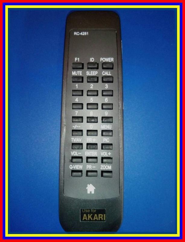 Remot Remote TV Tabung Akari KW