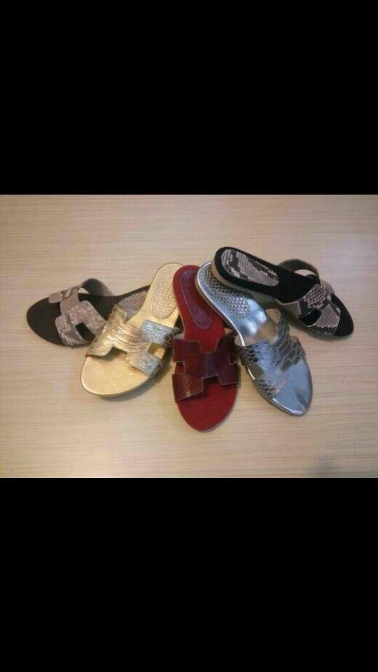 BEST SELLER - Sandal Wanita - Sandal Flat Teplek Tali Wedges Murah Terbaru Kickers