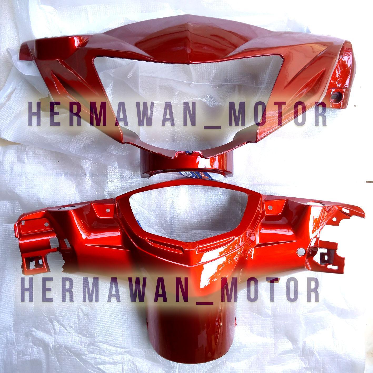 Batok depan Belakang Yamaha MX lama warna merah