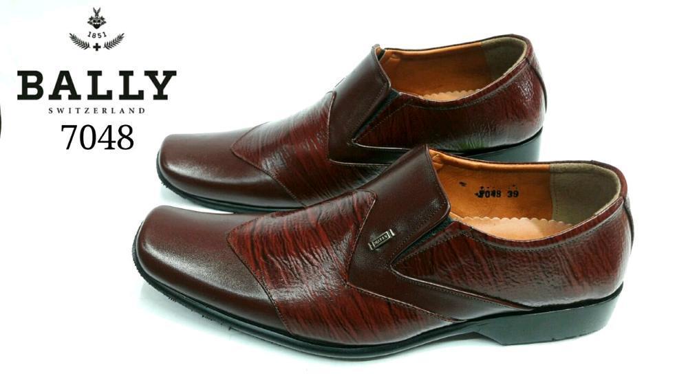 Promo sepatu pantofel bally || sepatu kerja pantofel bally kulit || kerja kantor, acara resmi, pesta pernikahan, kondangan.  Diskon