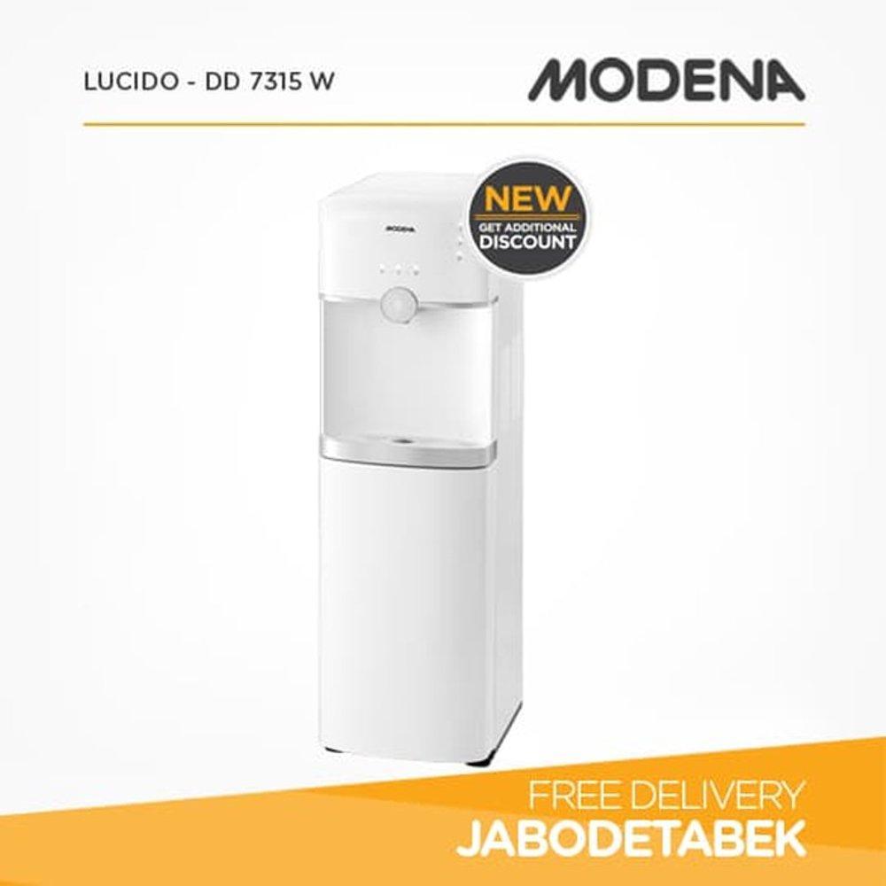 MODENA DD 7315 W Water Dispenser bottom loading