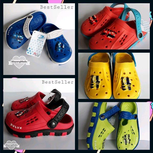 Sandal karet anak baim Dulux 202D uk.25-30