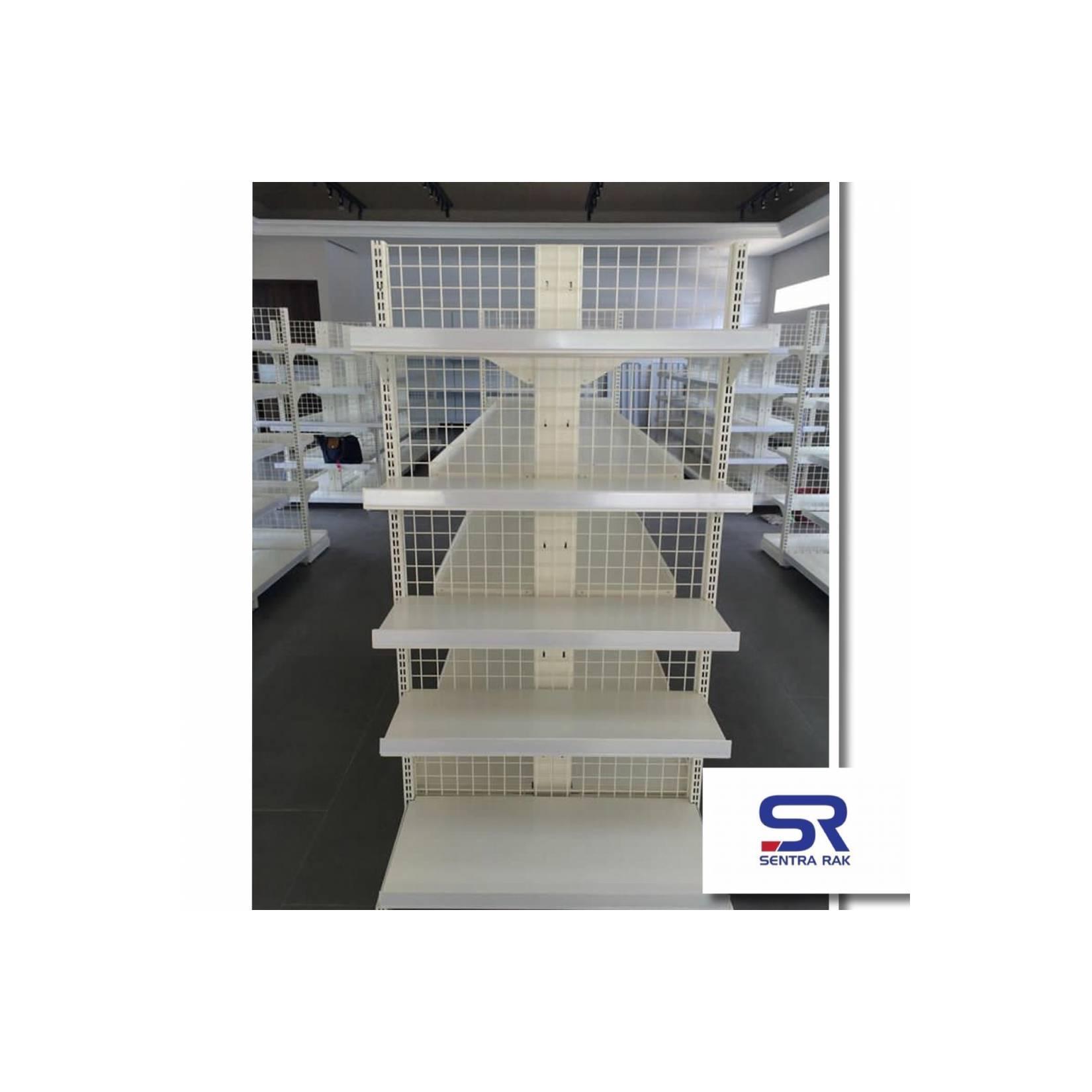 Rak Minimarket Tipe A Single 170x 90 x 40cm - 5 Susun- Starting
