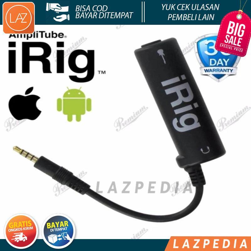 iRig AmpliTube Guitar Interface Adapter untuk iPhone /iPod Touch/iPad dan Android
