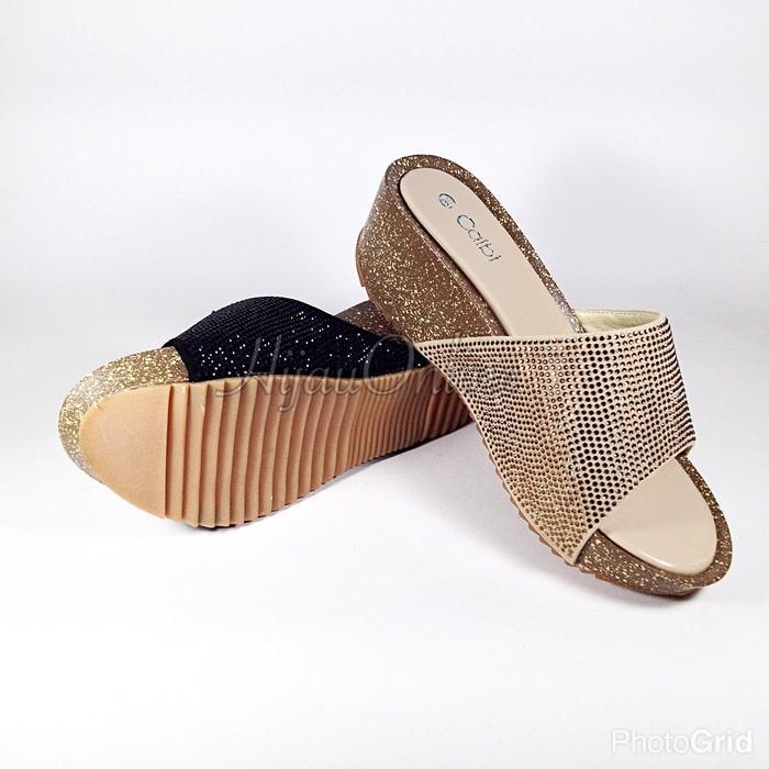 Promo Sandal Fashion Wanita (Calbi: JDX 1292) Gratis Ongkir