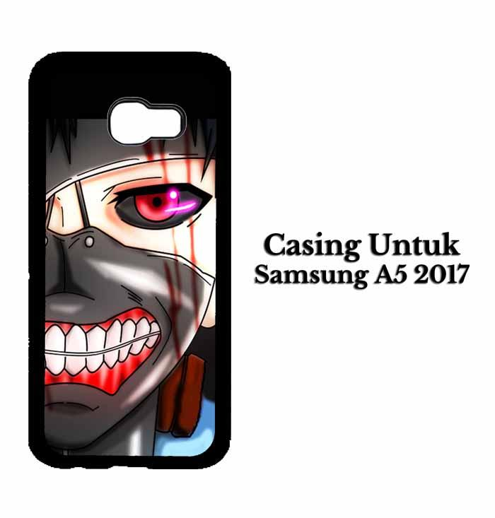 Casing SAMSUNG A5 2017 ken kaneki mas 2 Hardcase Custom Case Se7enstores