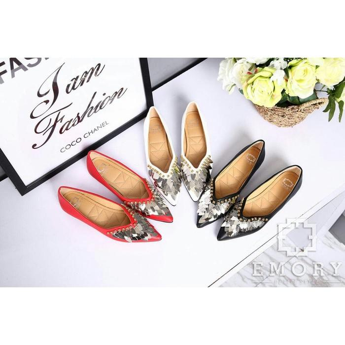 #Flat Shoes Shoes Emory Varetta Series NKEMO645.