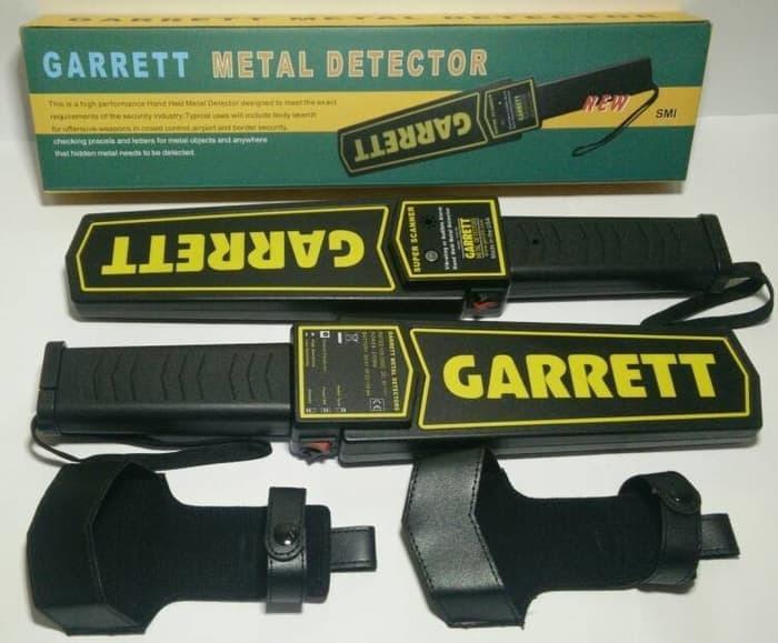 NEW  Garrett Metal Detector Pendeteksi Logam Super Aman PROMO TERLARIS