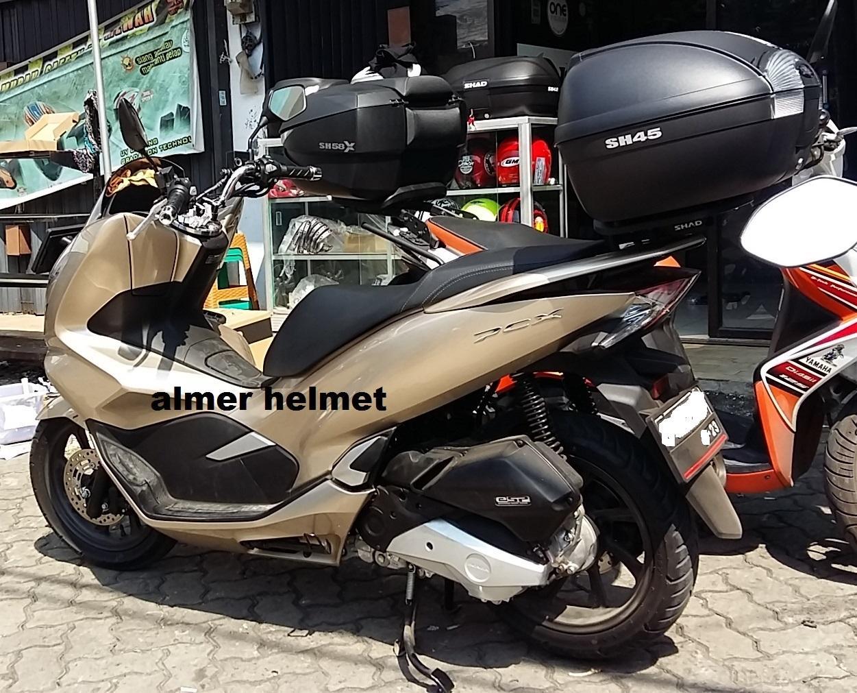 Fitur Shad Sh45 Paket Box Motor Honda Pcx Dan Harga Terbaru Info