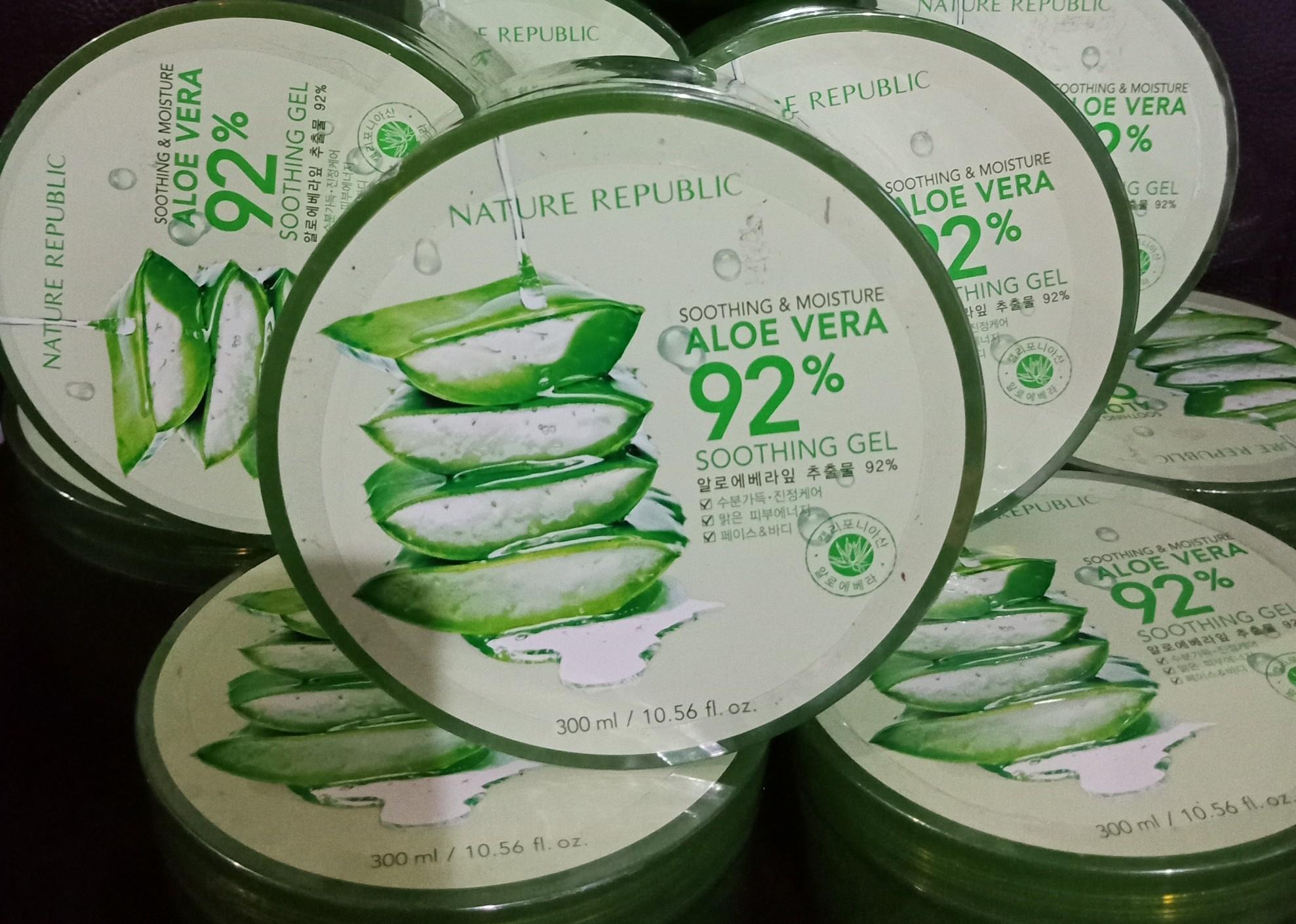 Cek Harga Baru Nature Republic Aloe Vera 92 Terkini Situs Soothing Gel 3
