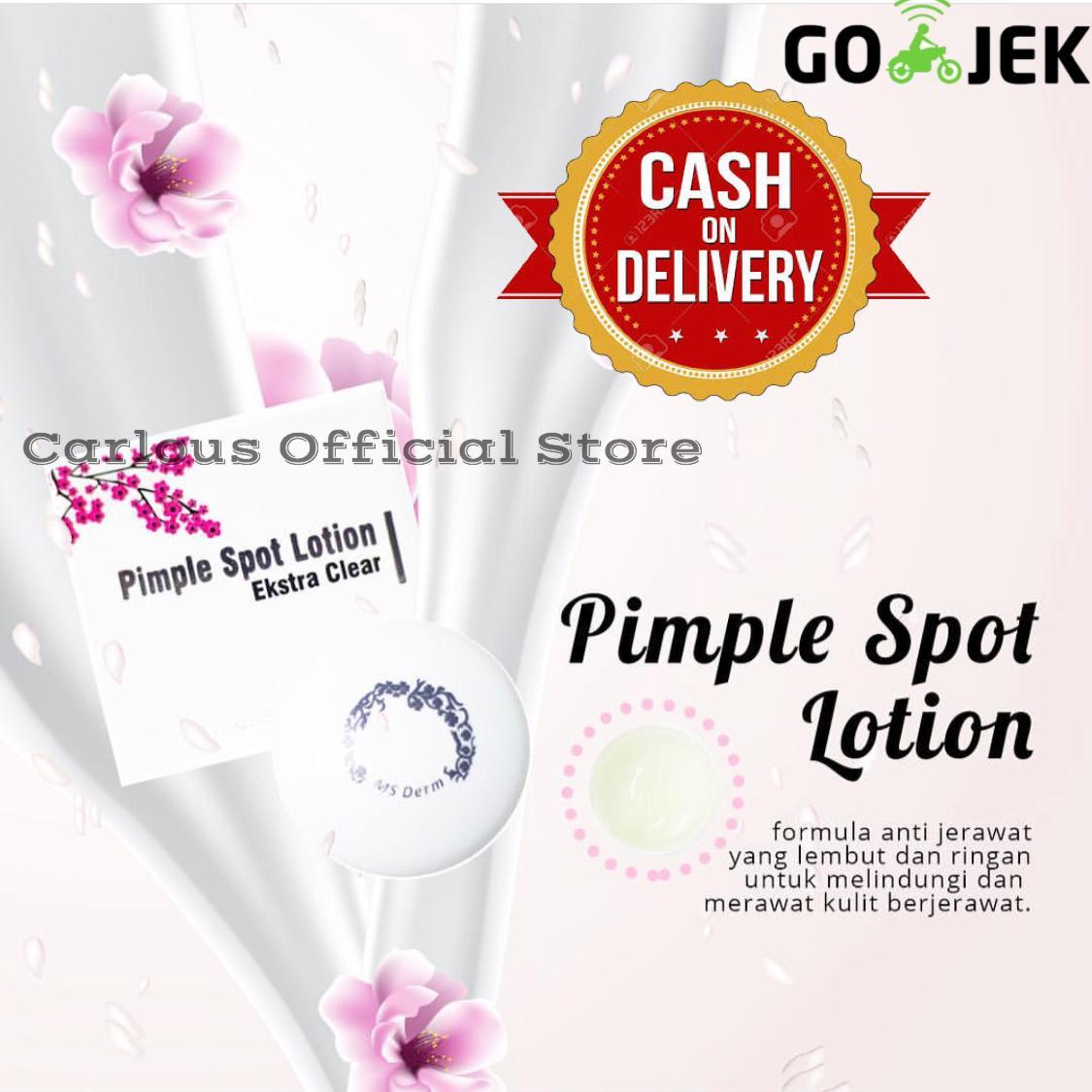 Carlous MS Glow Pimple Spot Lotion / Acne Cream /Salep jerawat