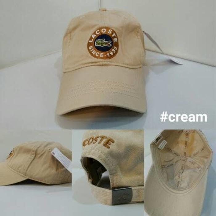 topi baseball/golf import LACOSTE 3 warna unisex Terlaris di Lazada