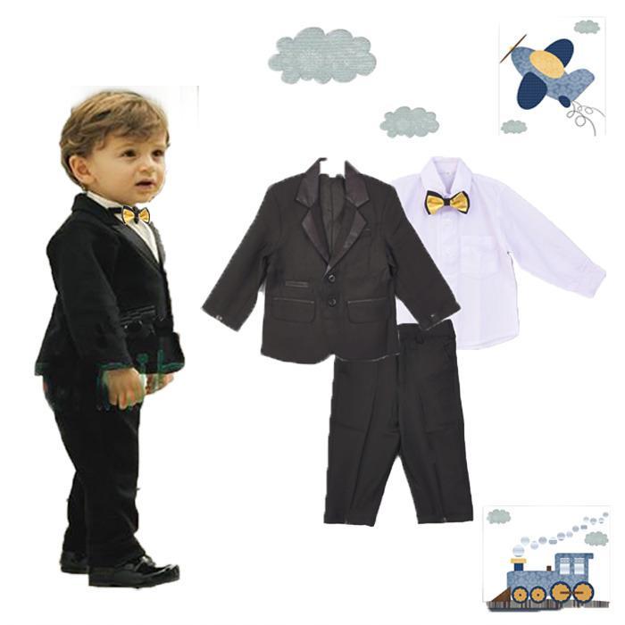 Jas Anak Setelan Jas Anak Setelan Baju Jas Black Gold Tie