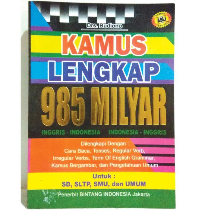 Kamus Lengkap 985Miliar - Kamus Lengkap Inggris Indonesia